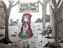 Little red riding hood by TaliShemes