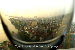 City view from a glass by kyle-aerobass