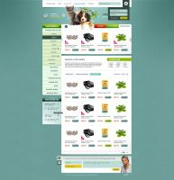 Petshop e-commerce design by HeartcoreCZ