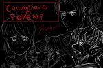 COMMISIONS ARE OPEN!! by Raekia12