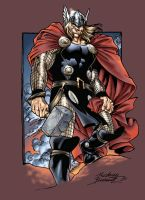 Thor colores by Buchemi