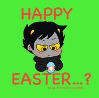 Happy Easter...? by Cheezit1x1