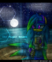 Night-beach by HazJacqui