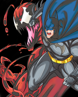 Batman X Carnage by Ray-D-Sauce