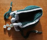 Slytherin Dice Bag FOR SALE by ArielManx