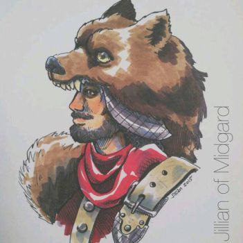 Lord Bear by Jillian-of-Midgard