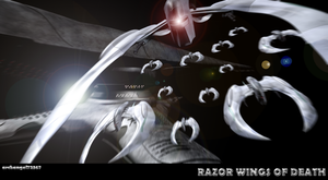 RAZOR WINGS OF DEATH by archangel72367