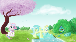 Spring day. CM for Kellezia by UniSoLeiL