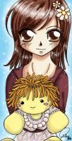 haruhi and her doll - Hilaya by anime-love-club