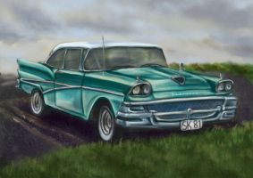 Ford Fairline by winterqueen