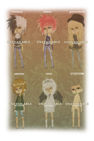 [5-10] misc adoptables :: CLOSED by Adoradopts