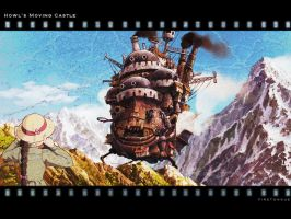Howls Moving Castle Wallpaper by firetongue8
