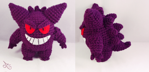 Gengar - Pokemon by AmiAmaLilium