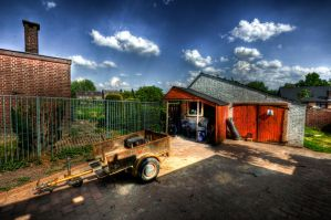 Backyard HDR 2 by MisterDedication