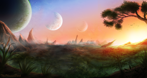 Planetscape by JKRoots