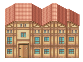 Pixel House by charligal