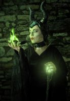 Maleficent1 by MissMalerie