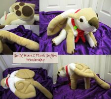 Plush Griffon Guild Wars 2 by Chochomaru