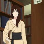 HSV: Sorting through the library by Hyuuga-me
