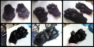 Angrist Feral Handpaws by CuriousCreatures