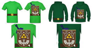 WW Toon Link Costume by Enlightenup23