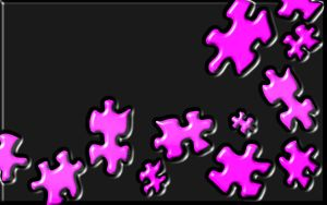 Sookie Jigsaw Wallpaper Pink 1 by sookiesooker