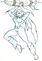 Power Girl - WSG 106 by whipsmartbanky