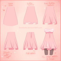 . Simple Ruffle Tutorial. by Zombutts