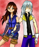 Riku and Shade by plue101