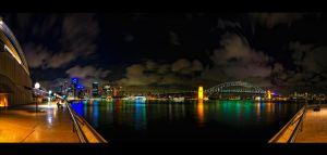 Sydney Harbour Nights by WiDoWm4k3r