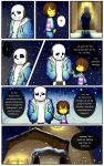 Reminiscence: Undertale Fan Comic Pg 4 by Smudgeandfrank