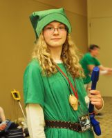 Phoenix Comicon 2011 Link by Recycledhero