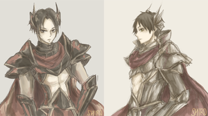 [SnK] Knights by shiroiheya