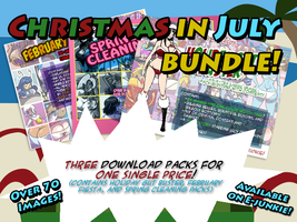 Christmas in July Bundle by Axel-Rosered