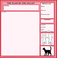 :: TOo-TcotV :: Blank Application Sheet (nonclan) by TheClansOf-TheValley