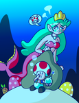 Sweet Pearly Explosive Mermaid by JamesmanTheRegenold