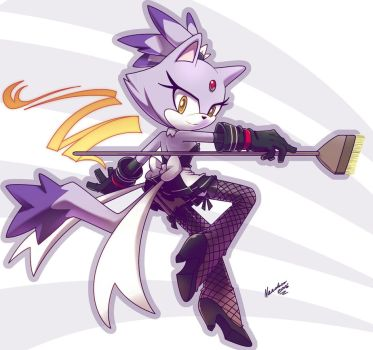 Blaze the maid by nancher