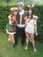 Connichi '12 - Horo+Lawrence+Horo by Moeker