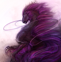 Painted shadow by Littlelinky