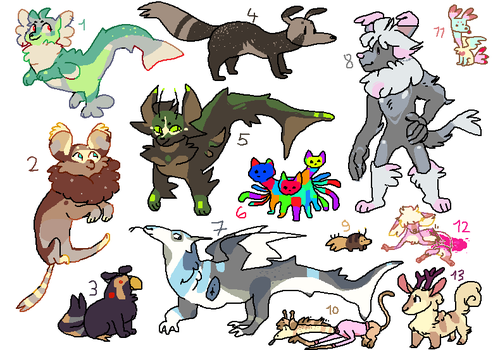 closed ! cheap batch by Shayxy-s-adopts