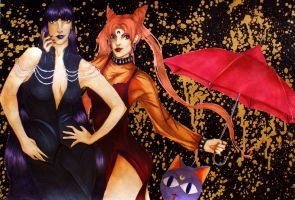Mistress 9 + Wicked Lady by grungebunnay