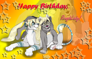 :B-day Gift: RoughLady by JasmynGarden