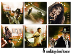 Walking Dead Icon Set by VaL-DeViAnT