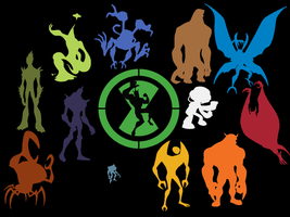 Ben 10 Alien Force Wallpaper by spyroflame0487