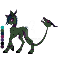 Draconis Pony adopt (Open) by dragons011