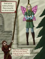 Christmas LOTR-style by michellecelebrielle