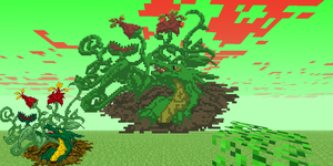 Vine Dragon Pixel Art by DragonDePlatino