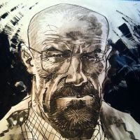 Walter White by urban-barbarian