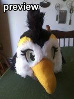 sneakity sneek peek preview sneek PENGUIN FURSUIT by OEmilyThePenguinO