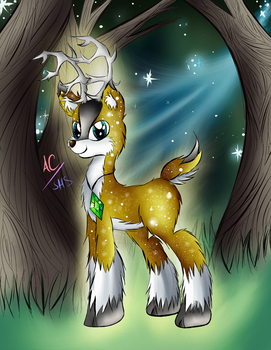 (Commission) Tyandaga the Deariest of Deers by Animechristy